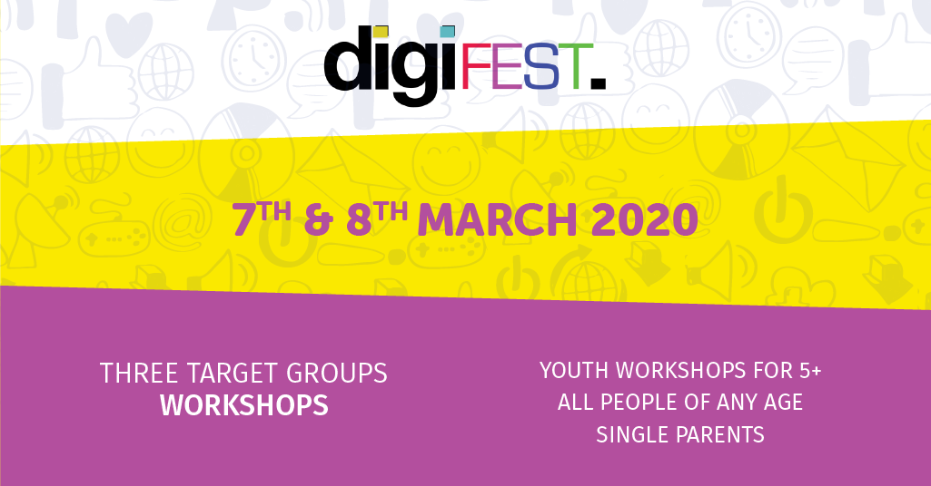 Digital festival for the community by the community